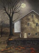 Billy Jacobs Autumn Moon Country Farm Pumpkin Print  12 x 16