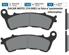 174.0081 PLAQUETTE DE FREIN ORIGINAL POLINI HONDA REFLEX 250 - S-WING 125