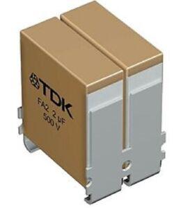 TDK FA MULTILAYER SOLDER CERAMIC CAPACITOR 7.4x6x9.1mm 0.5µF 900VDC ±20%