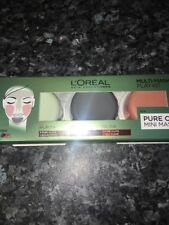 Loreal Paris 3 Pure Clays Multi-masking Face Mask Play Kit 3x10ml