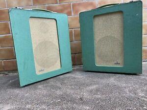 2x 6 Ruf Lsp 15p Siemens Klangfilm Cinema Speaker Box,