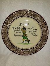 Royal Doulton Proverbs Golf Plate