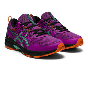 Asics Womens Gel-Venture 8 Trail Running Shoes Trainers Sneakers Purple