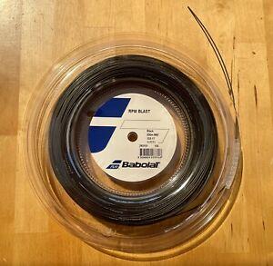 Babolat RPM Blast 17g Reel (1.25mm Tennis String 125) Full 200m 660ft. Brand New