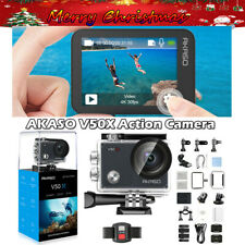 Gifts AKASO V50X Native 4K30fps WiFi Action Camera Kit & Touch Screen Waterproof