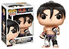 Funko Pop 201 Games Tekken Jin Kazama Black & White Suit 9cm