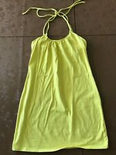 Women's Victoria Secret Bra Top Summer Yellow Dress Size Small Petite