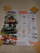 1999 Angelle Seeling/Warren Johnson/Kenny Berstein Bristol NHRA poster