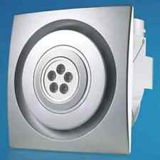 2-in-1 EXHAUST FAN WITH 5W LED LIGHTS  - SILVER