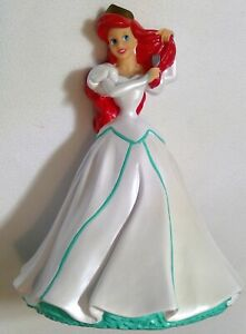 "Vintage Disney Piggy Bank Princess Ariel Little Mermaid Decor Disney 11"""