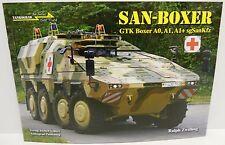 Tankograd In Detail Fast Track 16 - San-Boxer GTK Boxer A0,A1,A1+ sgSanKfz  Book