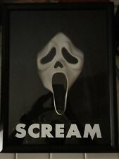 Scream Movie Show Ghostface Killer Mask Horror Prop Collectible Display Replica