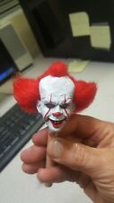 Pennywise the clown from it head for 12 inch body new rooted hair