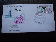 REPUBLIQUE CENTRAFRICAINE - enveloppe 1er jour 28/12/1972 (B4)