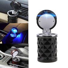 KFZ Aschenbecher,Auto,Ascher,mit LED-Beleuchtung,Schwarz