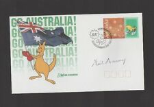 GO-AUSTRALIA FIRST DAY COVER SIGNED BY NEIL HARVEY