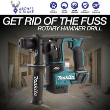 Makita Cordless Rotary Hammer Drill 18v Battery Brushless 17mm LXT Compact Skin