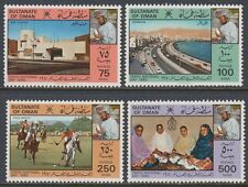 Oman 1980 ** Mi.202/05 Nationalfeiertag National Day Bab Alkabir Polo Sports