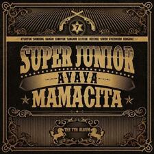 SUPER JUNIOR [MAMACITA] 7th Album A Ver CD+Booklet+Photocard K-POP SEALED
