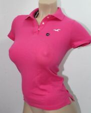 Hollister Women´s Polo Shirt Iconic Sz XSmall Color Pink NWT