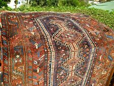 "Amazing Antique Estate 1900 Rug Great Colors 5'10"" X 4'1"""