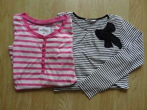 2 T-shirts manches longues, 10-12ans - H&M