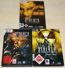 3 pc giochi collezione STALKER CALL OF PRIPYAT Clear Sky Chernobil S T A L K E R