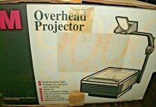 3M 9100 Professional Overhead Transparency Projector w Bulb Works Original Box