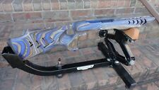10/22 Ruger BLUE Camo MAKO SHARK stock w/laser stippling for 920 barrel WOW!!!