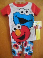 2baaa59fad Sesame Street Two-Piece Sleepwear (Newborn - 5T) for Boys