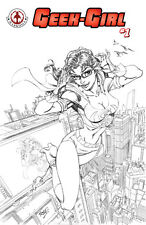 Geek-Girl #1 Hot S Limited Variant Edition - Signed