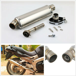 High Quality Stainless Steel Motorcycles Exhaust Muffler Pipe Connector 38-51mm