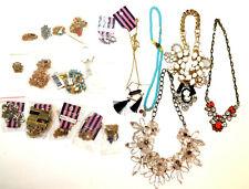 20 pieces statement necklaces, joblot costume jewellery, new