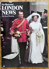 The Illustrated London News Dec 1973 Royal Wedding Princess Anne Capt Phillips