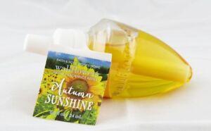 Autumn Sunshine Wallflower Fragrance Bulb Bath Body Works 0.8oz NEW orange amber
