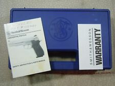 Smith & Wesson Model 411 Factory Hard Case With Manual.