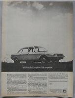 1968 NSU Ro80 Original advert