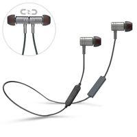 Hi-Fi Neck-band Sports Wireless Headset Earphones Mic Premium for Smartphones