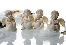 24 Engel Figuren mit Herz je 4 x 5,5 x 4 cm Hochzeit Gastgeschenk