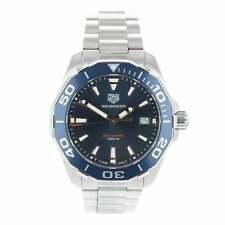 Orologio da uomo di proprietà pre 40mm Tag Heuer Aquaracer RIF WAY111C Quadrante Blu