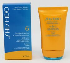 Shiseido 6 Tanning Cream SPF6 Tingle Cream 1.7oz
