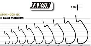 5 DROP SHOT HOOKS JAXON SUMATO SPIN HOOK OFFSET CHEBURASHKA FOR SOFT LURE PIKE