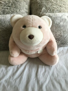 "Rare Gund FAO huge 25TH Anniversary blush pink 20"" Snuffles bear #45980 (2009)"