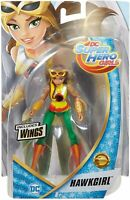 """DC Super Hero Girls Hawkgirl With Wings Doll Action Figure 6"""" Tall"""