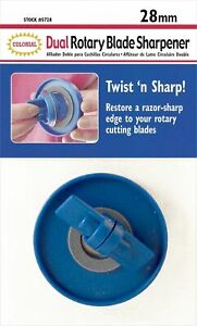 Colonial Needle Rotary Blade Sharpener-For 28mm Blades