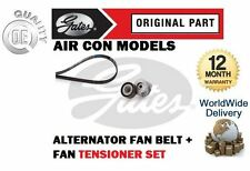 FOR VAUXHALL OPEL CORSA 1.3 CDTI  AIR CON 2000-> ALTERNATOR FAN BELT + TENSIONER