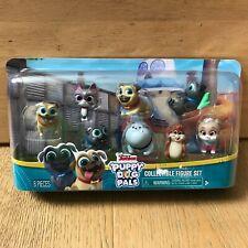Disney Junior Puppy Dog Pals Collectible Figure Set 8 Pieces Rolly Bingo Hissy