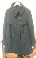 Denim Button Women's Trench Coats