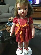 Doll Terri Lee Painted Plastic  Mannequin Wig 1940s