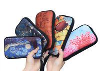 3D Women Men Wristlet Clutch Wallet Phone Coin Purse Cosmetic Bag Case Handbag